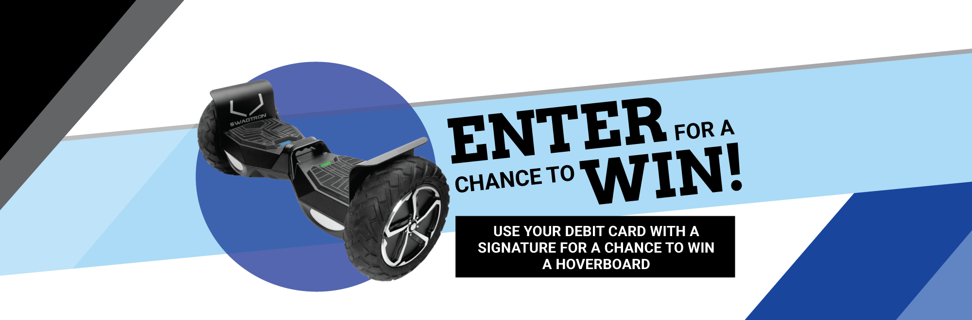 Use your debit card & win!