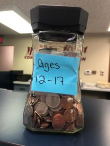 Virtual Coin Jar - ages 12-17 Contact us if you cannot see the image.