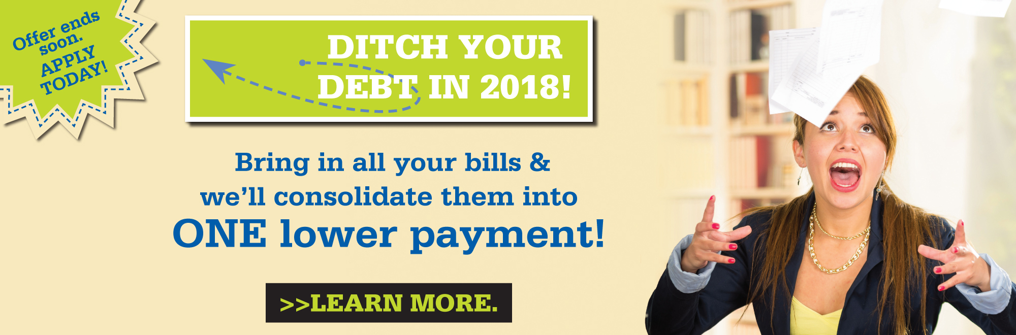 Ditch Your Debt - apply now!