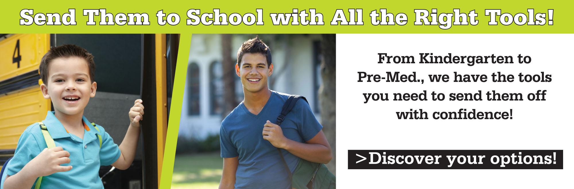Back to school loan offer