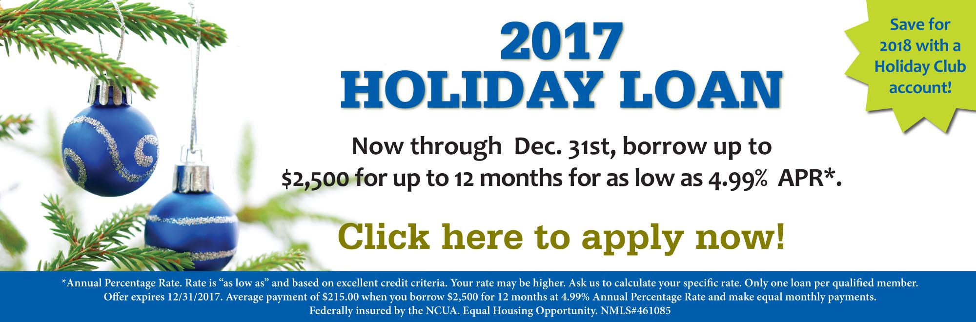 2017 Holiday Loan