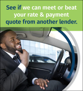 See if we can meet or beat your rate & payment quote from another lender.