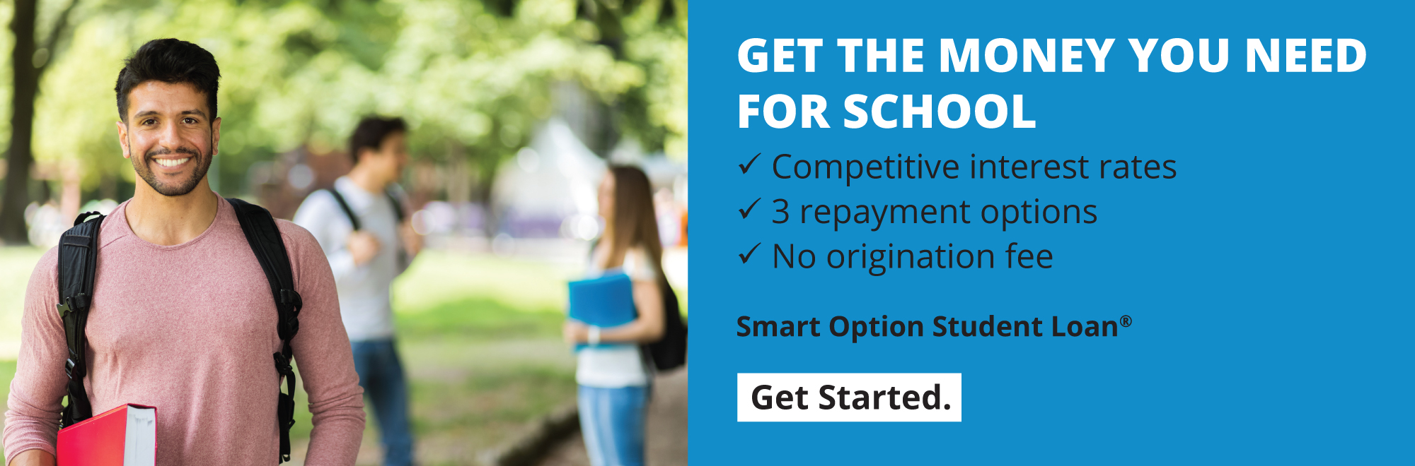 MEMBERS1st now offers student loans. Click here to learn more!