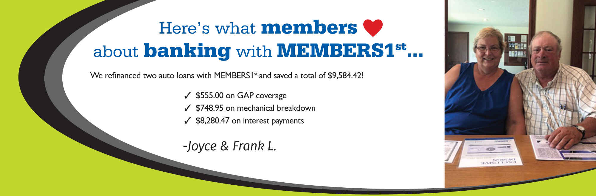 members1st community credit union – we are a cooperative. we are