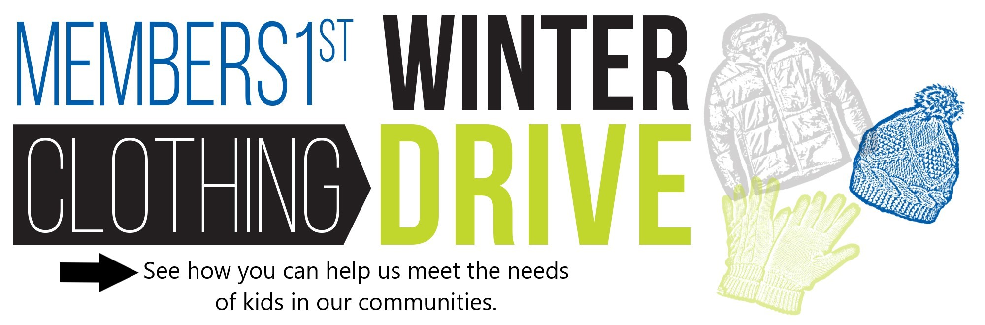 Donate to our winter clothing drive!