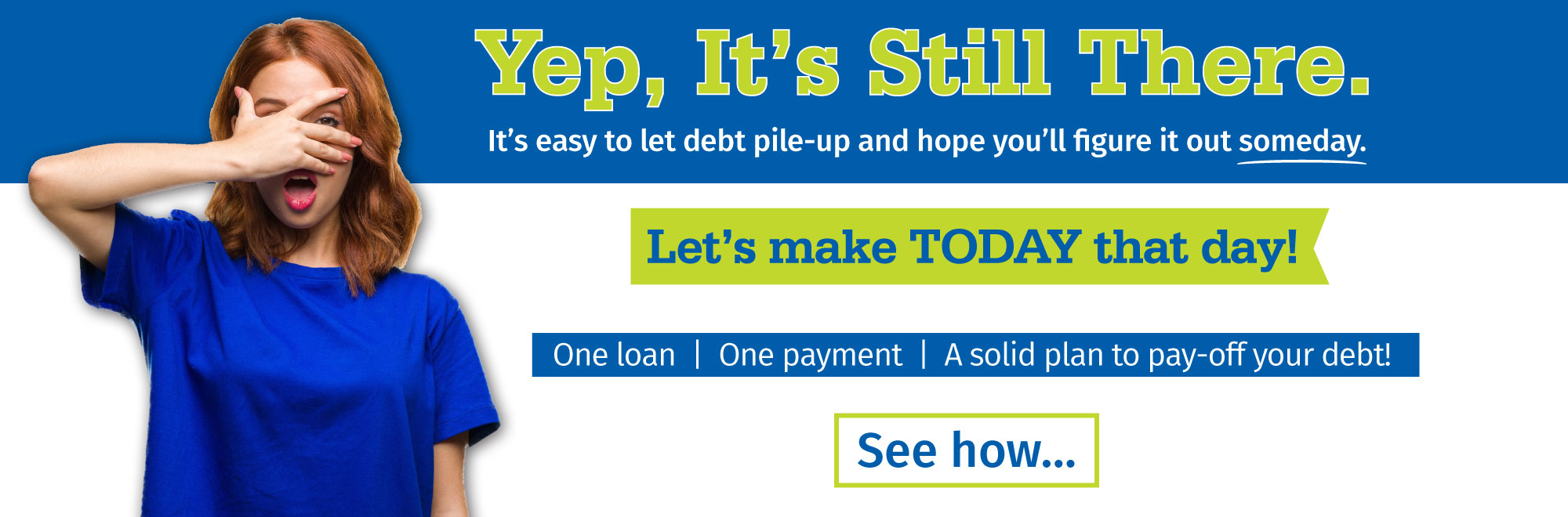 Apply for our low-rate debt consolidation loan now!