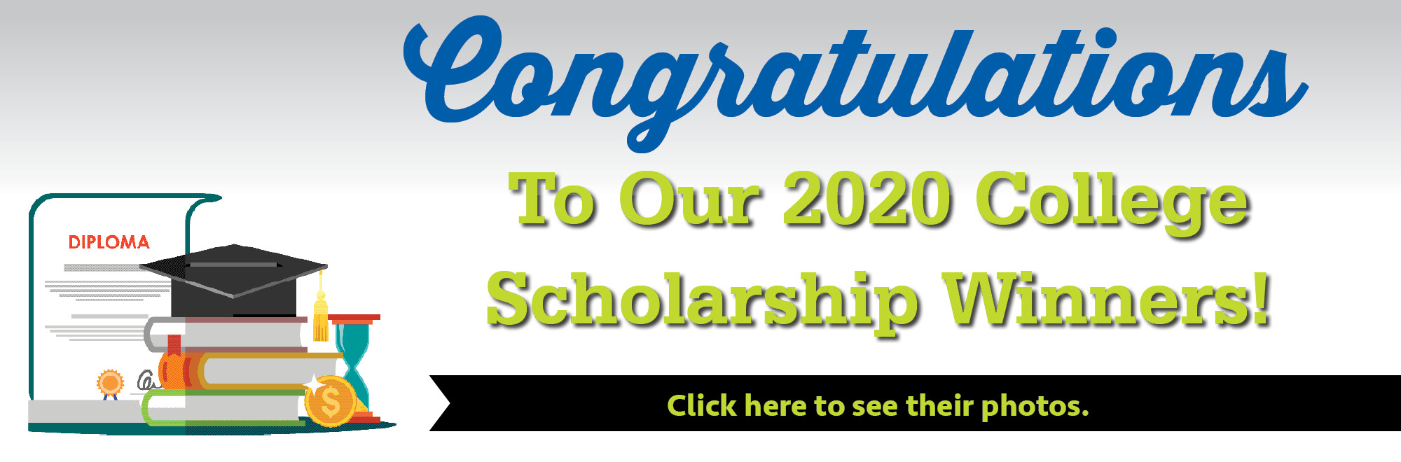 Congratulations to our 2020 College Scholarship winners!
